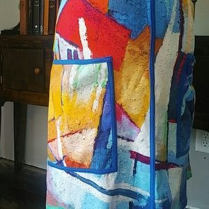 dolcezza Dresses - Dolcezza / color sailboat dress / pockets /art